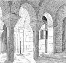 Bordeaux: église saint Seurin: la crypte