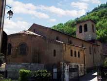 Grenoble: l'église saint Laurent