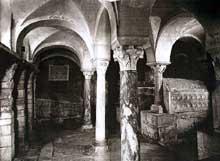 Jouarre: la crypte de l'abbaye