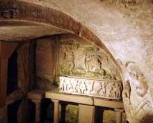 Marseille, église saint Victor: la crypte