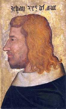 Portrait de Jean Le Bon. Paris, musée du Louvre