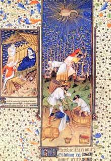 Maître de Rohan et son atelier: «Grandes Heures de Rohan», 1430 Paris, Bibliothèque Nationale, Département des manuscrits, Latin 94718 fol. 14v