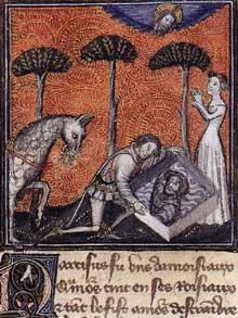Le Livre du Coeur de l&rsquo;Amour épris. Vers 1460-1467. Texte de René D&rsquo;Anjou, enluminures de <a class=