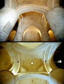 Arles, saint Honorat des Alyscamps: la croisée