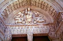 Arles, saint Trophime: le tympan