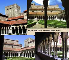 Arles sur Tech: l'abbatiale sainte Marie, XIè