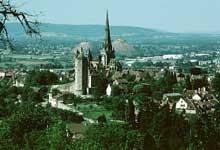 Autun, cathédrale saint Lazare: vue générale