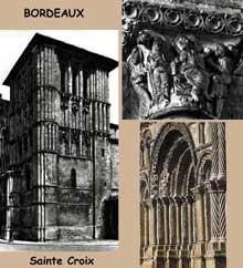 Bordeaux: l'abbaye de Sainte Croix
