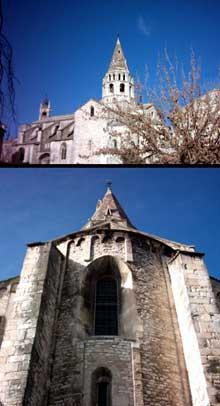 Bourg Saint Andéol. L'église romane