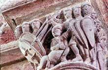 Brioude, église saint Julien: chapiteau