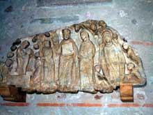 Cabestany (Pyr�n�es Orientales)�: linteau de l��glise