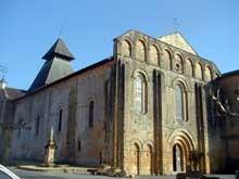 Cadouin (Dordogne): l'abbatiale
