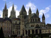 Caen, abbaye saint Etienne ou «abbaye aux Hommes»