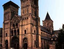 Caen, abbaye de la Trinité ou «abbaye aux Dames». Vue générale