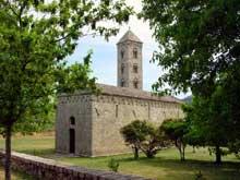 Carbini: l'église saint Jean et son clocher hors œuvre