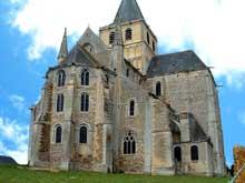 Cerisy la Forêt (Manche): l'abbaye saint Vigor