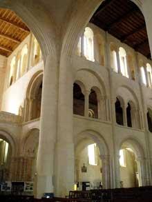 Cerisy la Forêt (Manche): l'abbaye saint Vigor. Extérieur sud
