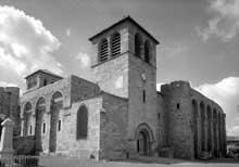 Champdieu en Loire: le prieuré bénédictin saint Domnin