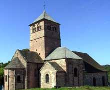 Champ le Duc (Vosges): l'église romane