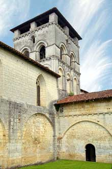 Chancelade (Dordogne): l'abbaye