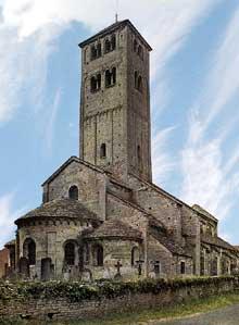 Chapaize (Saône et Loire): l'église paroissiale saint Martin