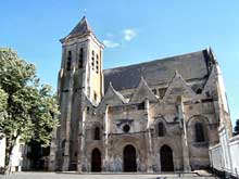Châteaudun (Eure et Loire): église sainte Madeleine