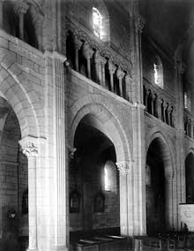 Châteaudun (Eure et Loire): église sainte Madeleine. Elévation façade nord