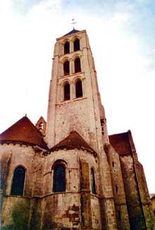 Château Landon (Seine et Marne): église Notre Dame