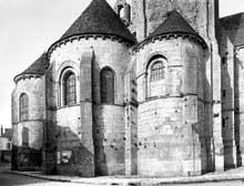 Château Landon (Seine et Marne): église Notre Dame. L'abside