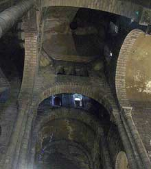 Clermont Ferrand, Notre Dame du Port: la coupole de croisée sur trompes
