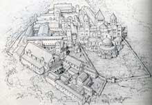 Cluny III: restitution de l'abbaye