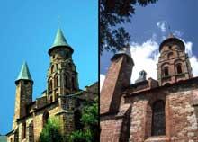 Collonges la Rouge (Corrèze): l'église