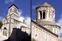 Cruas (Ardèche) Eglise abbatiale Notre Dame de Provence