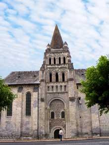 Cunault (Maine et Loire): l'église Notre Dame