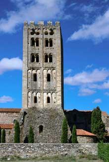 Saint Michel de Cuxa: la tour