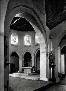 Dangeau: église prieurale saint Georges. Le chœur
