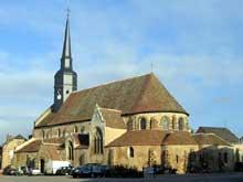 Dangeau: église prieurale saint Georges