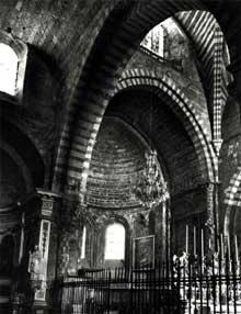 Embrun: ancienne cathédrale Notre Dame du Réal. Le chœur
