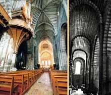 Embrun: ancienne cathédrale Notre Dame du Réal. L'intérieur