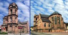 Etival-Clairefontaine: l'église abbatiale saint Pierre