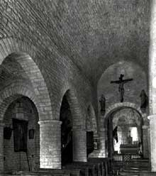 Farges-lès-Mâcon (Saône et Loire): l'église saint <a class=
