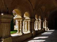 Fontenay en Côte d'Or: l'abbaye cistercienne: le cloître
