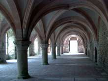Fontenay en Côte d'Or: l'abbaye cistercienne: le scriptorium