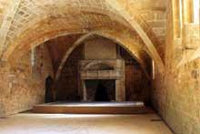 L'abbaye de Fontfroide: le chauffoir