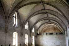 L'abbaye de Fontevrault: le réfectoire