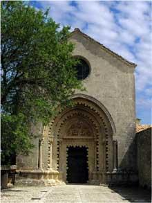 Ganagobie (Basses Alpes): le prieuré bénédictin