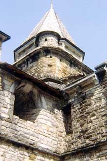 L'Hôpital Saint Blaise (Pyrénées Atlantiques): l'église romane