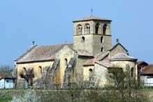 Iguerande: l'église vue du sud