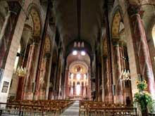Issoire (Puy du Dôme), saint Austremoine: la nef