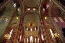 Issoire (Puy du Dôme), saint Austremoine: le chœur et la croisée du transept